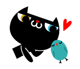 The blue bird of happiness sticker #1226043