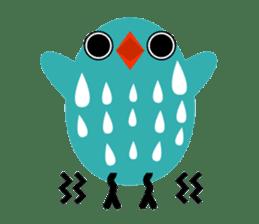 The blue bird of happiness sticker #1226047