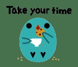 The blue bird of happiness sticker #1226078
