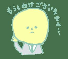 Rabbit, Hand, White, Triangle, Moon sticker #1228479