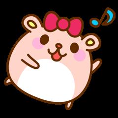 Girl's Hamster