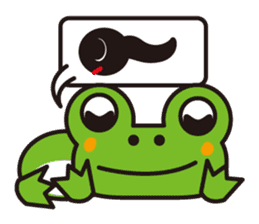 Life of the cheerful frog sticker #1229130
