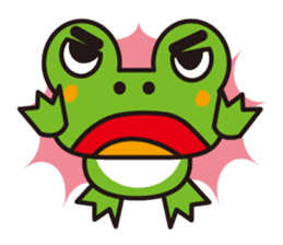 Life of the cheerful frog sticker #1229149