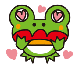 Life of the cheerful frog sticker #1229153