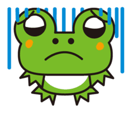 Life of the cheerful frog sticker #1229154