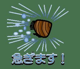 Freshwater clam Sticker sticker #1229745