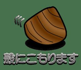 Freshwater clam Sticker sticker #1229746