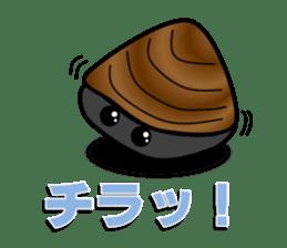 Freshwater clam Sticker sticker #1229748