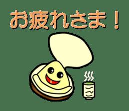 Freshwater clam Sticker sticker #1229753