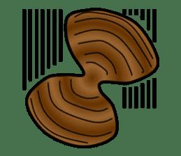 Freshwater clam Sticker sticker #1229755