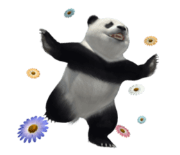 The Master Panda sticker #1230568