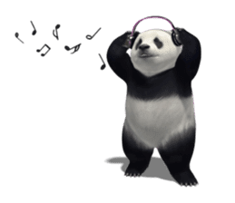 The Master Panda sticker #1230569
