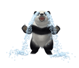 The Master Panda sticker #1230572