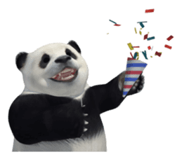 The Master Panda sticker #1230597