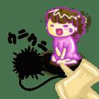 Kendama and Children sticker #1231126