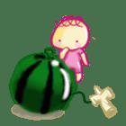 Kendama and Children sticker #1231141