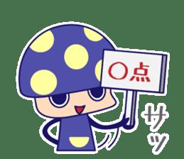 Poisonous Mushrooms sticker #1231170