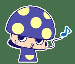 Poisonous Mushrooms sticker #1231190