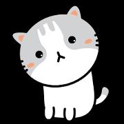 สติ๊กเกอร์ไลน์ Natty Cat
