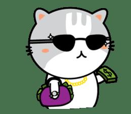 Natty Cat sticker #1231423