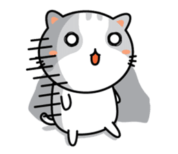 Natty Cat sticker #1231436