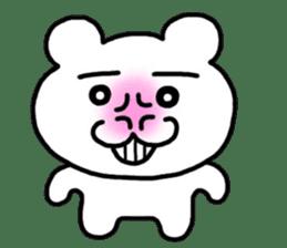 Mr. Polar bear came! sticker #1232009