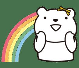 Funny Bear Formal sticker #1232242