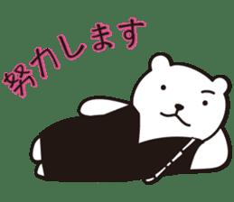 Funny Bear Formal sticker #1232268