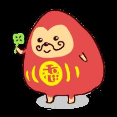 happy daruma