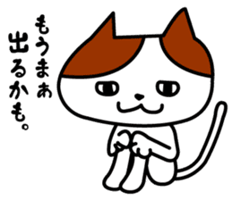 Tosa language cat. sticker #1234003