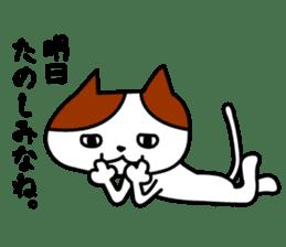 Tosa language cat. sticker #1234012