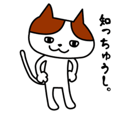 Tosa language cat. sticker #1234038