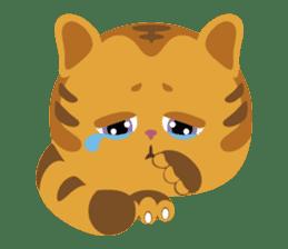 Kitkit, the cute pillow kitten sticker #1234562