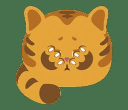 Kitkit, the cute pillow kitten sticker #1234563