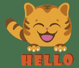 Kitkit, the cute pillow kitten sticker #1234564