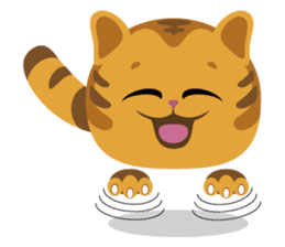 Kitkit, the cute pillow kitten sticker #1234565