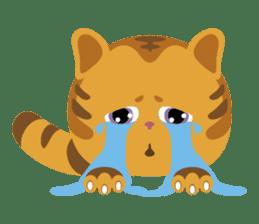 Kitkit, the cute pillow kitten sticker #1234568