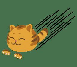 Kitkit, the cute pillow kitten sticker #1234569