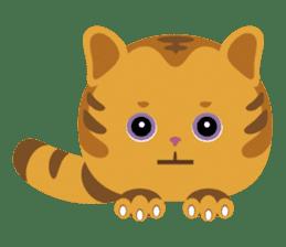 Kitkit, the cute pillow kitten sticker #1234571