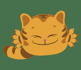 Kitkit, the cute pillow kitten sticker #1234572