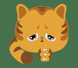 Kitkit, the cute pillow kitten sticker #1234583