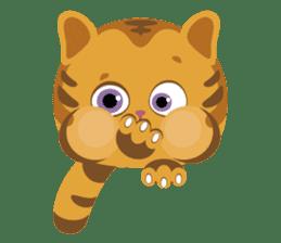 Kitkit, the cute pillow kitten sticker #1234591