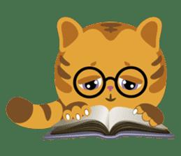 Kitkit, the cute pillow kitten sticker #1234592