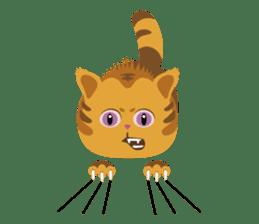 Kitkit, the cute pillow kitten sticker #1234593