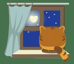 Kitkit, the cute pillow kitten sticker #1234600