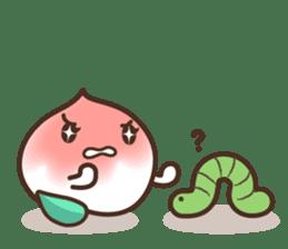 Peri, the sweet cute little peach fruit sticker #1234727