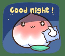Peri, the sweet cute little peach fruit sticker #1234745