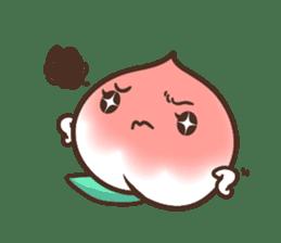 Peri, the sweet cute little peach fruit sticker #1234755