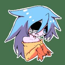 My zombie of a graveyard sticker #1234770