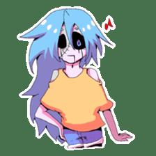My zombie of a graveyard sticker #1234798